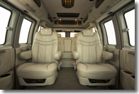 Explorer Van bucket seat option