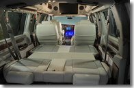 Explorer Van fold down seating