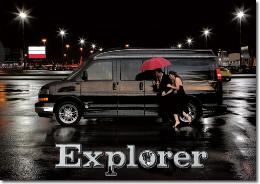 Explorer Van Night on the Town